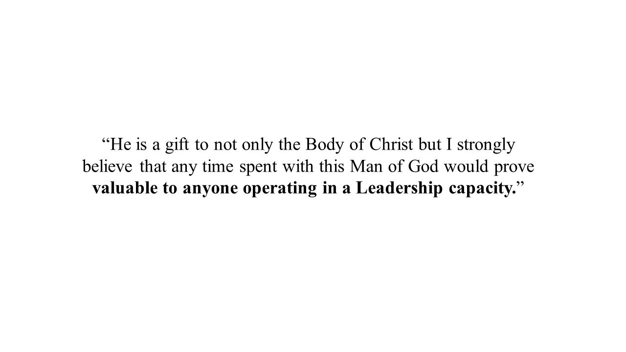 apostle james francis testimonial 1